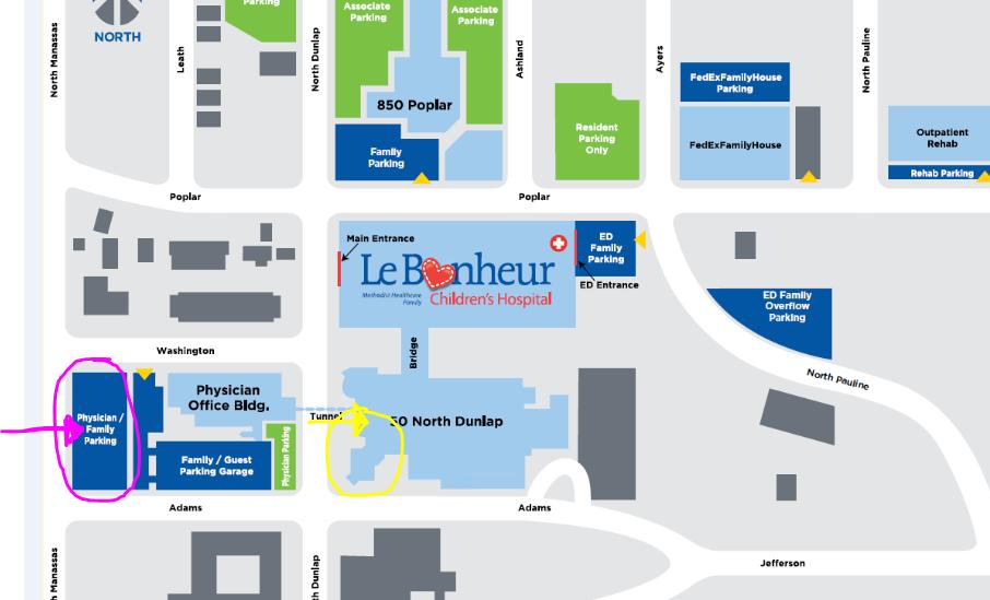 PNS Campus Map